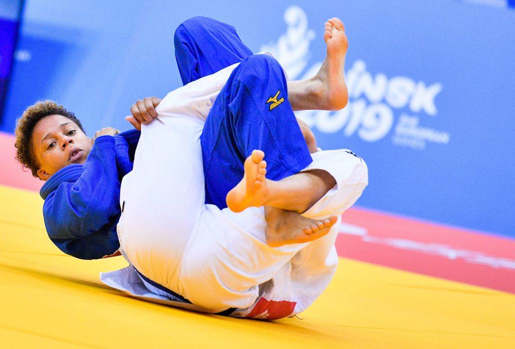 Judo : Buchard sacrée à Doha, Cysique en argent