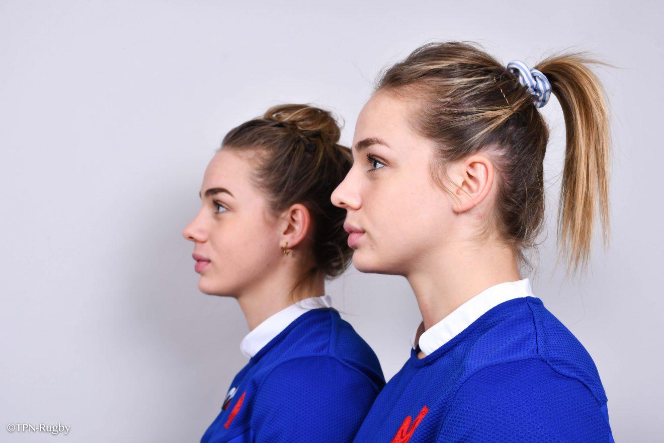 Romane et Marine Menager, les soeurs jumelles du rugby français