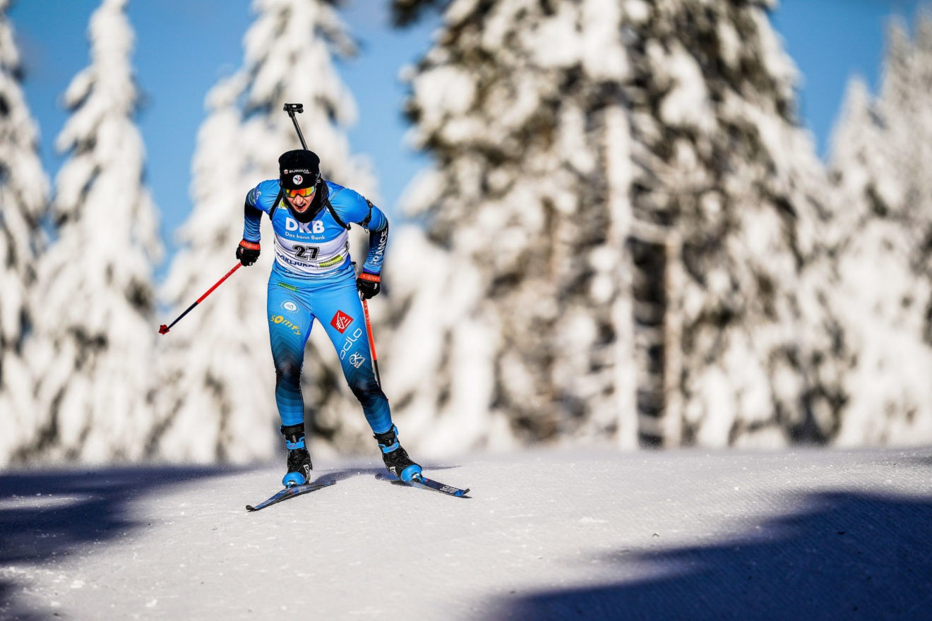 Mondiaux biathlon : Julia Simon et Antonin Guigonnat décrochent l'or en relais mixte