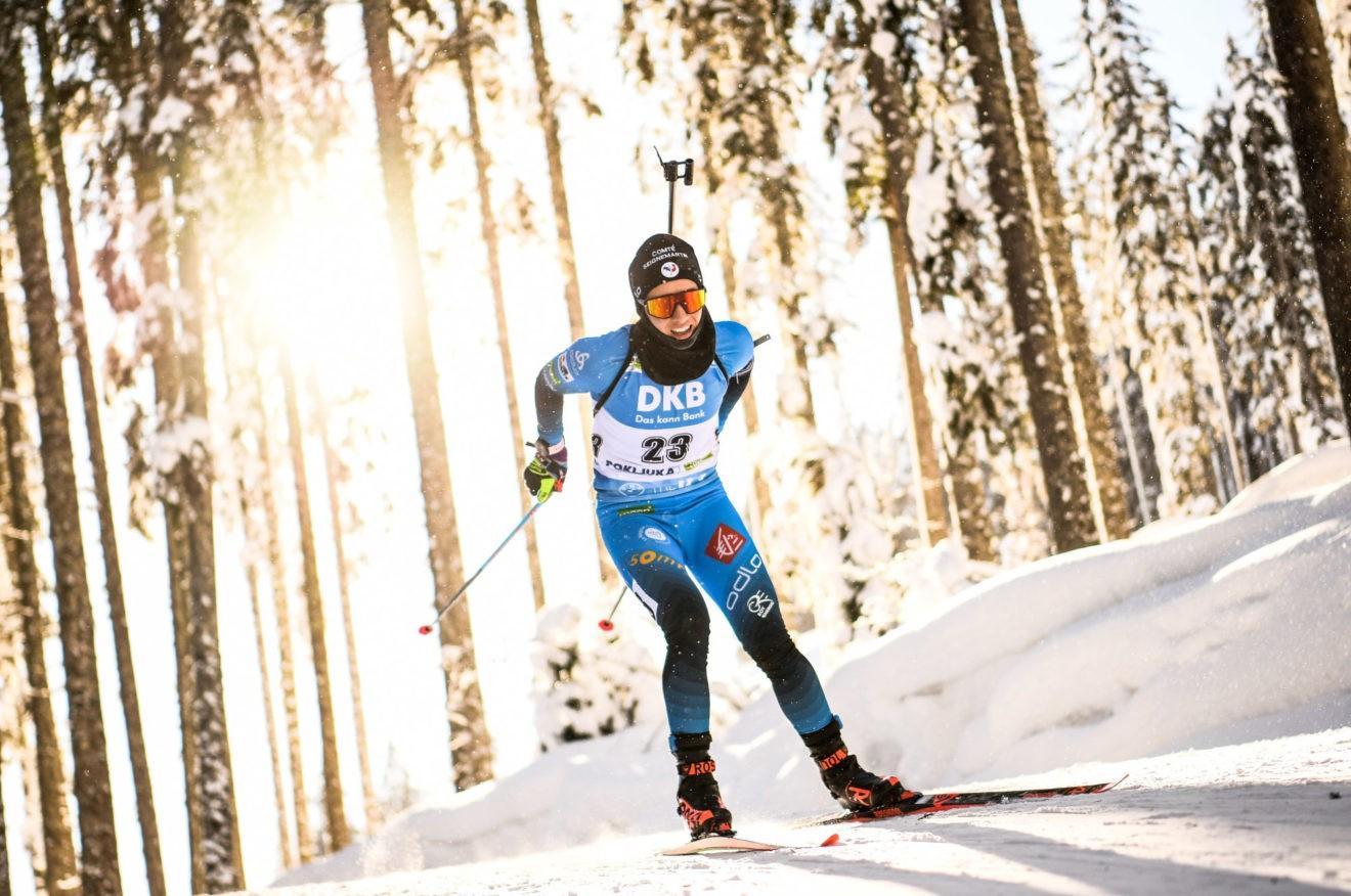 Mondiaux de biathlon / poursuite – Chevalier-Bouchet troisième, Eckhoff première