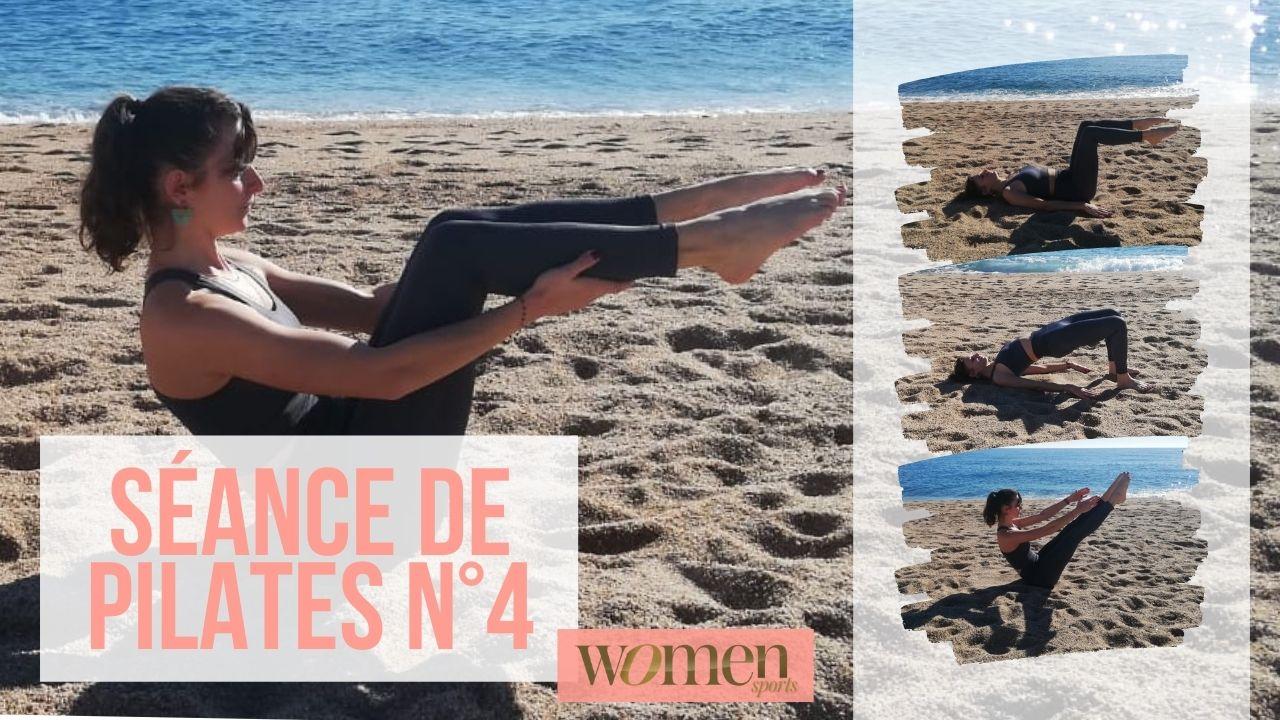 Démo de Pilates N°4 - Swimming à plat ventre