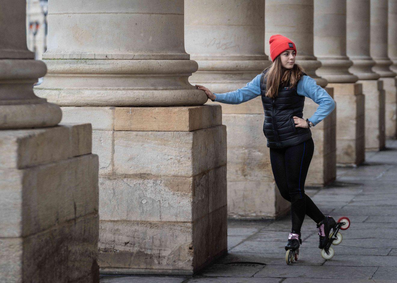 À la découverte du Roller freestyle avec Alix Bouquet