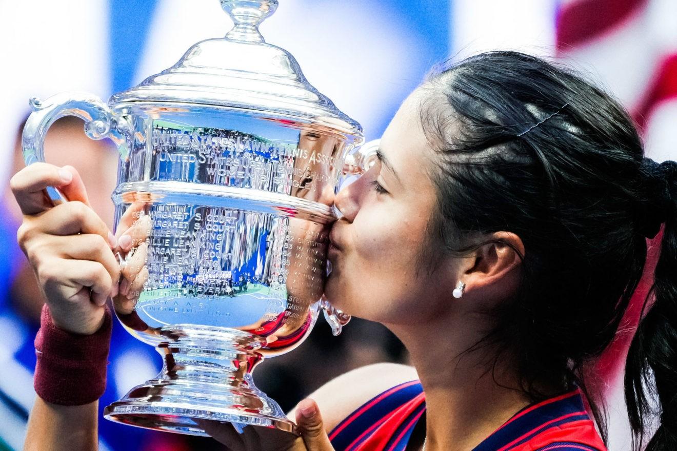 US Open: La réaction de Raducanu après sa victoire : «J'ai l'impression de vivre un rêve absolu»