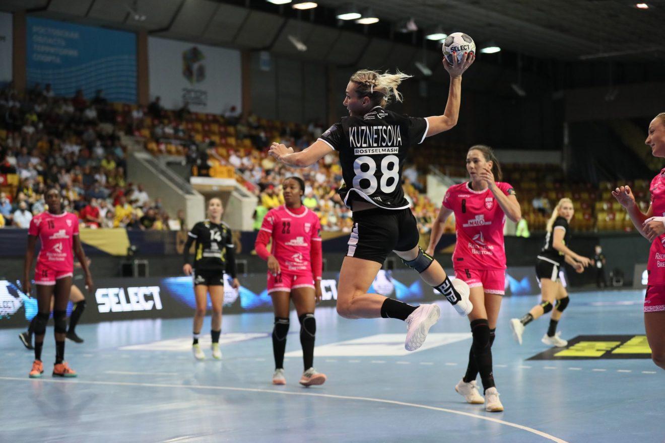 Handball : Les Brestoises battues d'entrée en C1