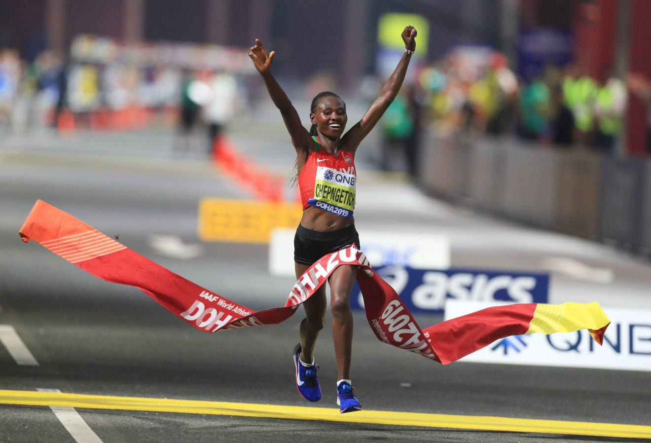 Marathon de Chicago : la Kenyane Chepngetich victorieuse